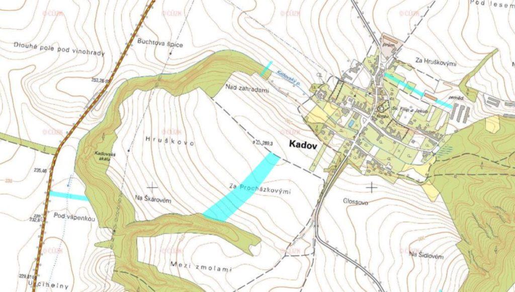 Dražba zemědělských pozemků v obci Kadov, okres Znojmo