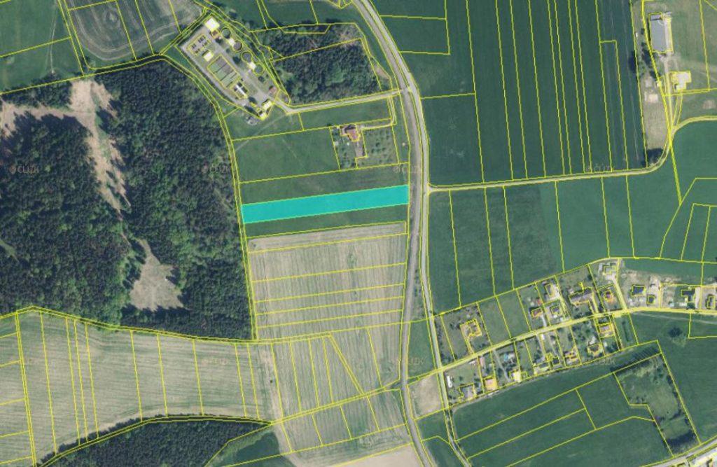Dražba podílu id. 1/4 na pozemku (trvalý travní porost) v obci Helvíkovice, okres Ústí nad Orlicí