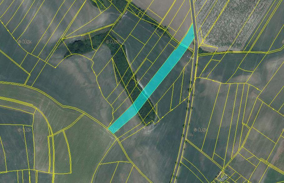 Dražba podílu id. 1/12 na zemědělských pozemcích v obci Chotiněves, okres Litoměřice