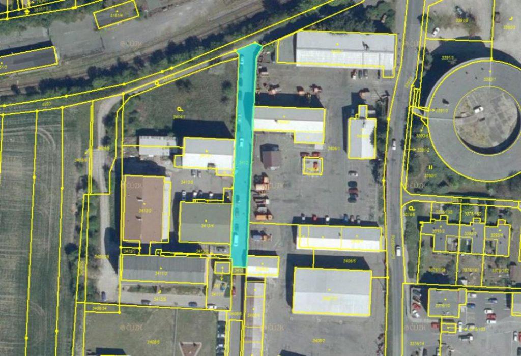 Dražba podílů na pozemcích v obci Louny, okres Louny
