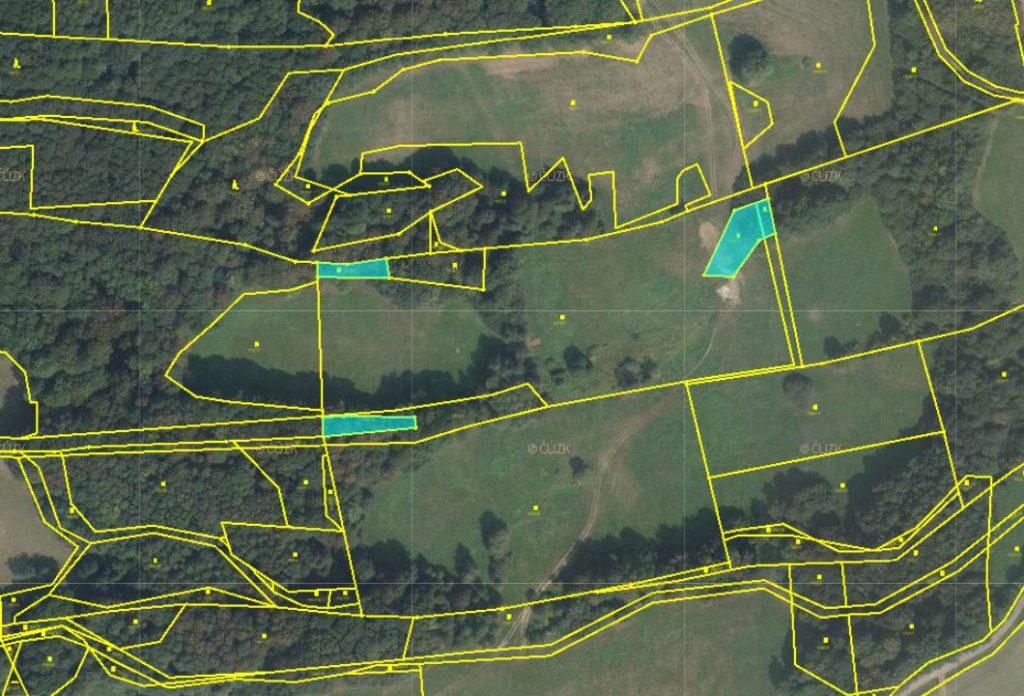 Opakovaná dražba pozemků v k.ú. Žilina u Nového Jičína, okres Nový Jičín