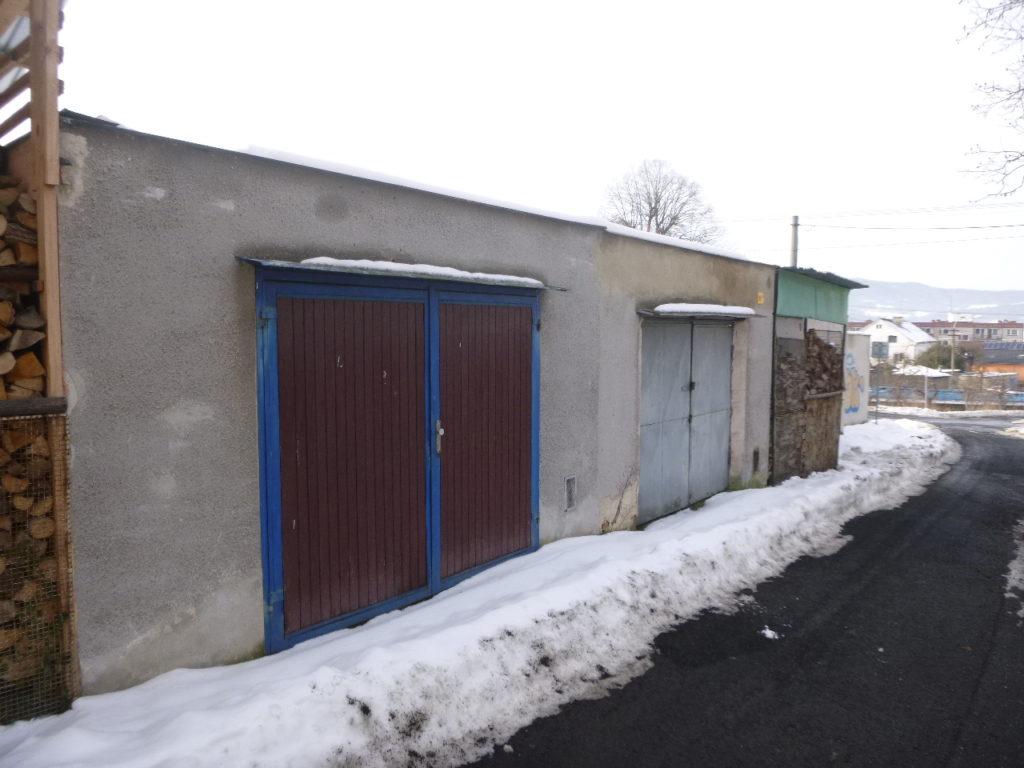 Dražba garáže v obci Děčín