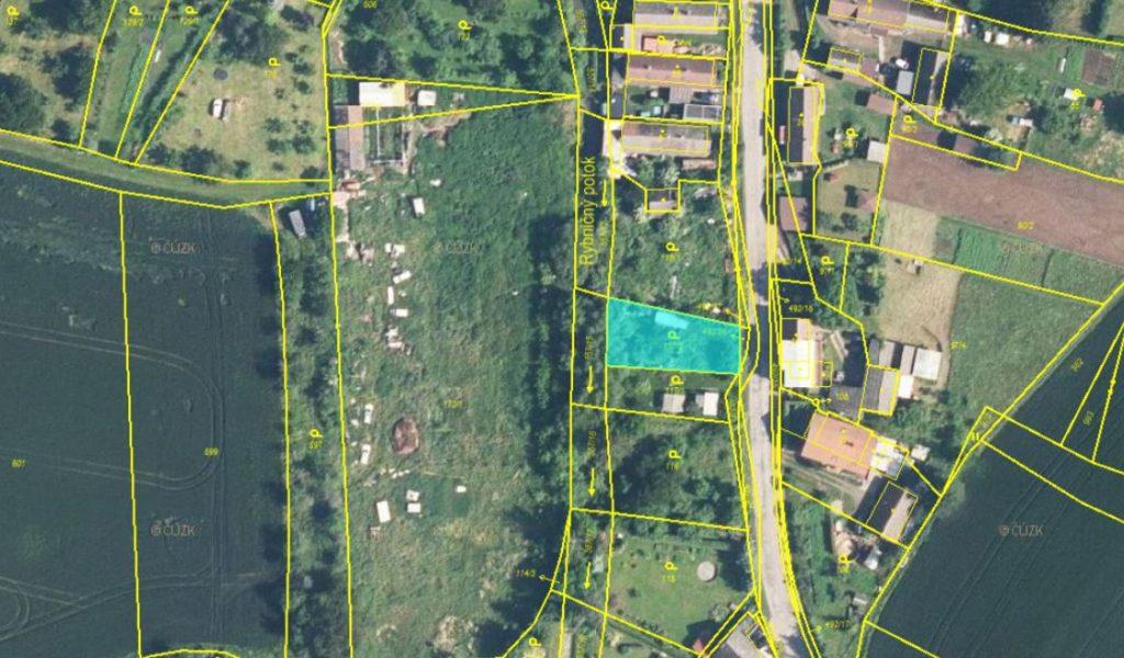 Dražba zahrady v obci Cerekvice nad Bystřicí, okres Jičín