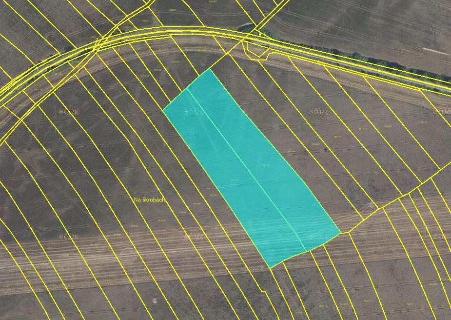 Dražba pozemků orné půdy v obci Lochovice, okres Beroun