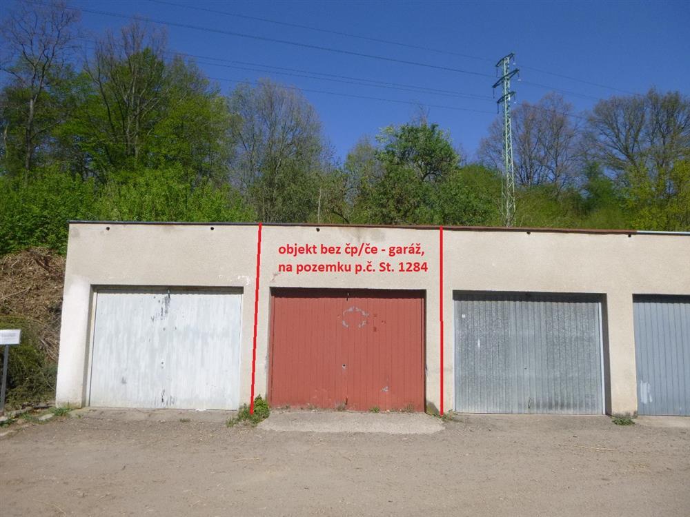 Dražba podílu id. 1/3 garáže v obci Vamberk, okr. Rychnov nad Kněžnou
