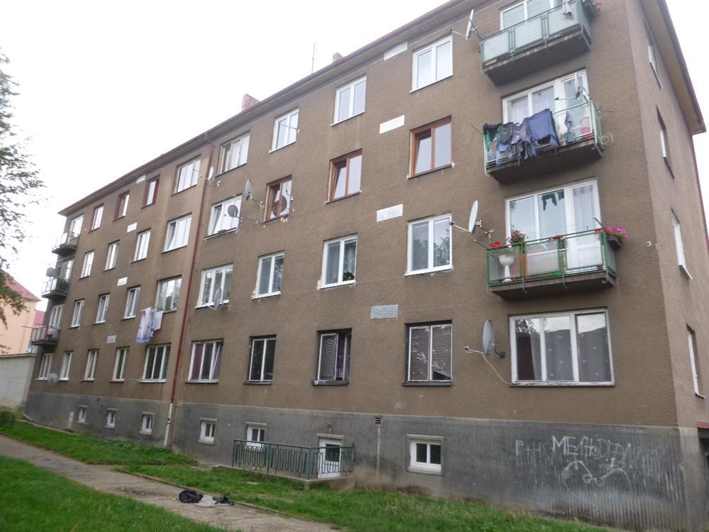 Dražba bytu 2+1 v obci Jirkov, okr. Chomutov
