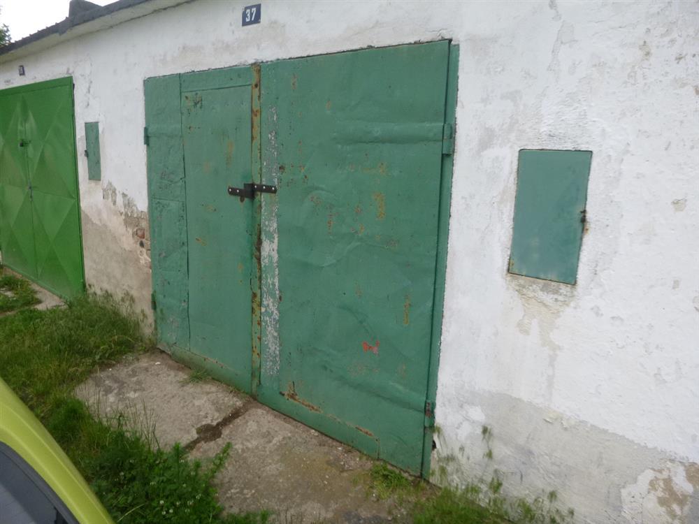 Dražba garáže v obci Milín, okres Příbram