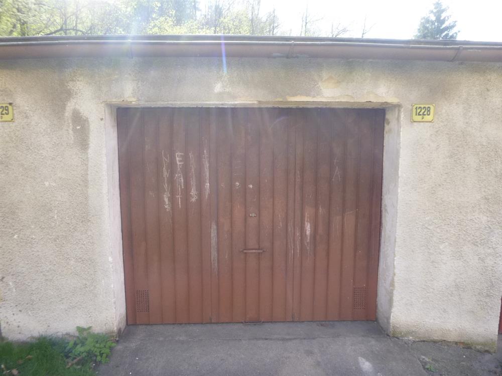 Dražba garáže v obci Děčín, místní část Loubí