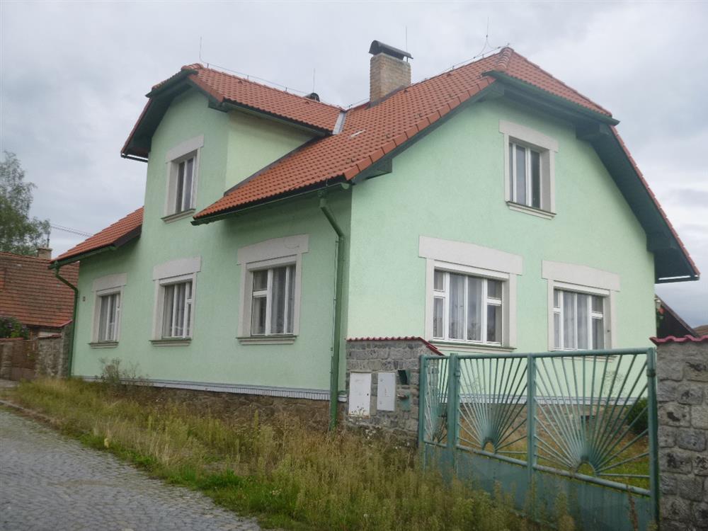 Dražba RD se zahradou v obci Miličín, okr. Benešov
