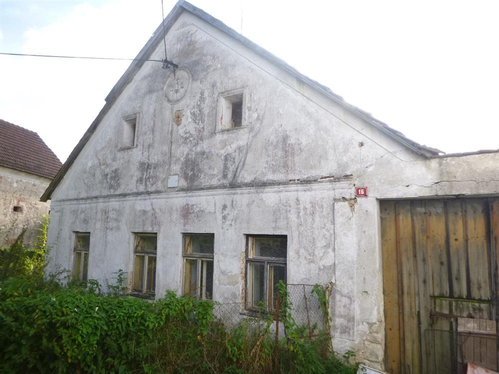 Dražba RD v obci Hospříz, okres Jindřichův Hradec