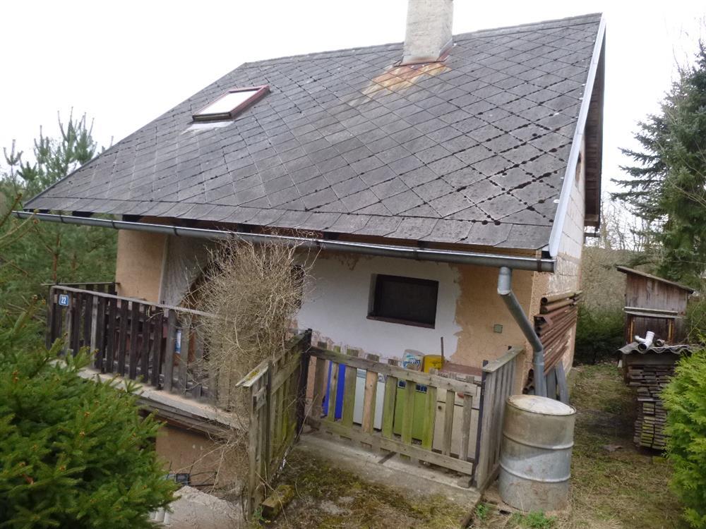 Dražba objektu rodinné rekreace v obci Kaceřov, okres Plzeň-sever